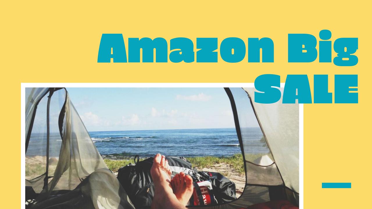 増税前急げ!Amazonでキャンプ用品セール中!